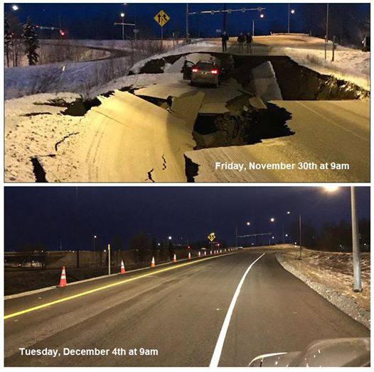 Šok i nevjerica: Urušenu cestu u potresu popravili  za 4 dana!?
