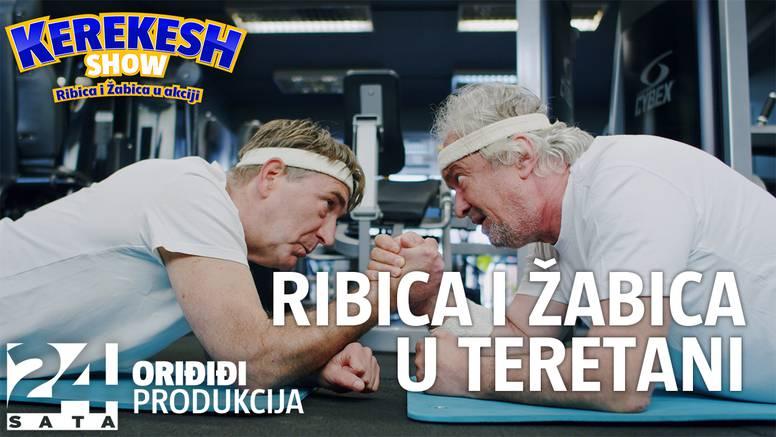Darko Janeš i Ljubomir Kerekeš odlaze u teretanu: 'Koliko dugo držimo plank? Punih 12 sekundi'
