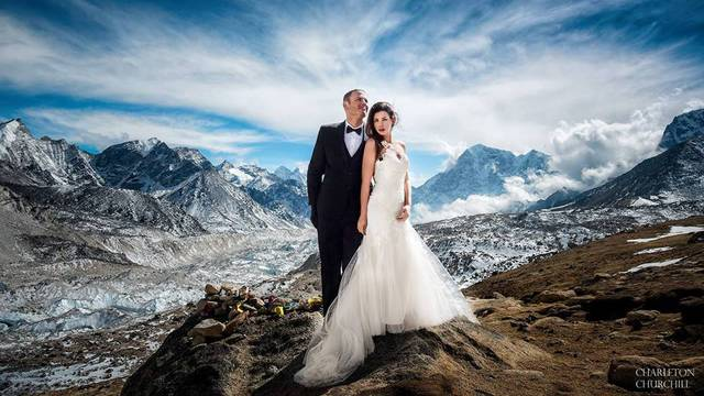 Ljubav na vrhu ovog svijeta: Vjenčali se na Mount Everestu