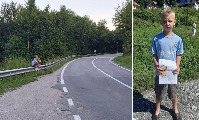 Čovjek koji je uslikao dječaka s kupinama: Jecao je i tresle su mu se ruke, pomoći ću obitelji