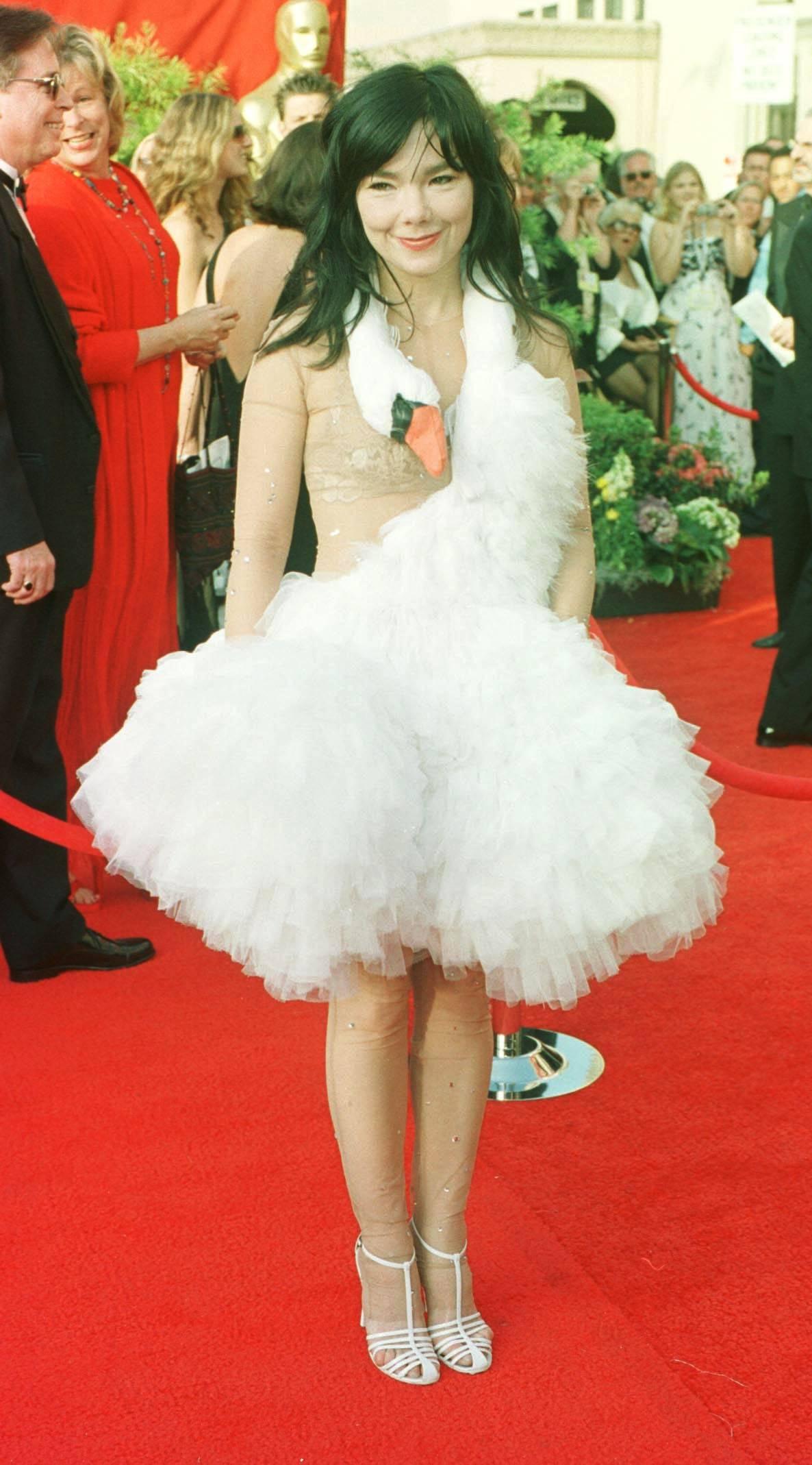 Fashion disasters on Oscar night
