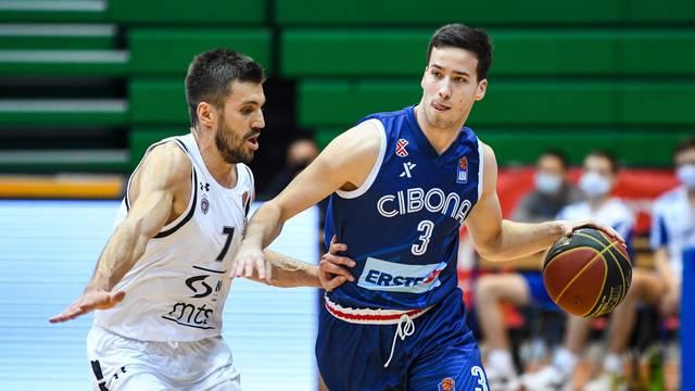 Zagreb: Cibona protiv Partizana u 7. kolu ABA lige