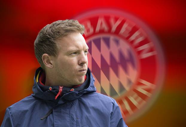 FC Bayern is apparently negotiating with Julian NAGELSMANN (coach L) about the aftermath of Hans Dieter Flick (Hansi, coach FC Bayern Munich).