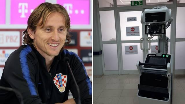 U Opću bolnicu Zadar stigla je vrijedna donacija Luke Modrića