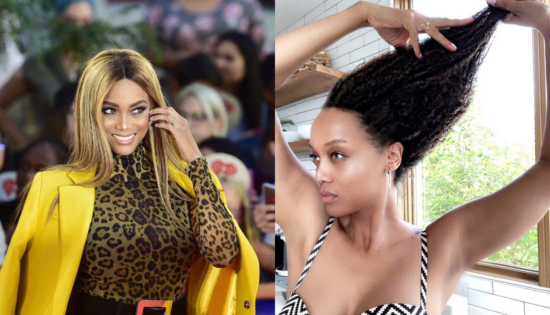 Tyra Banks pokazala prirodnu kosu: Ekstenzije trebaju odmor