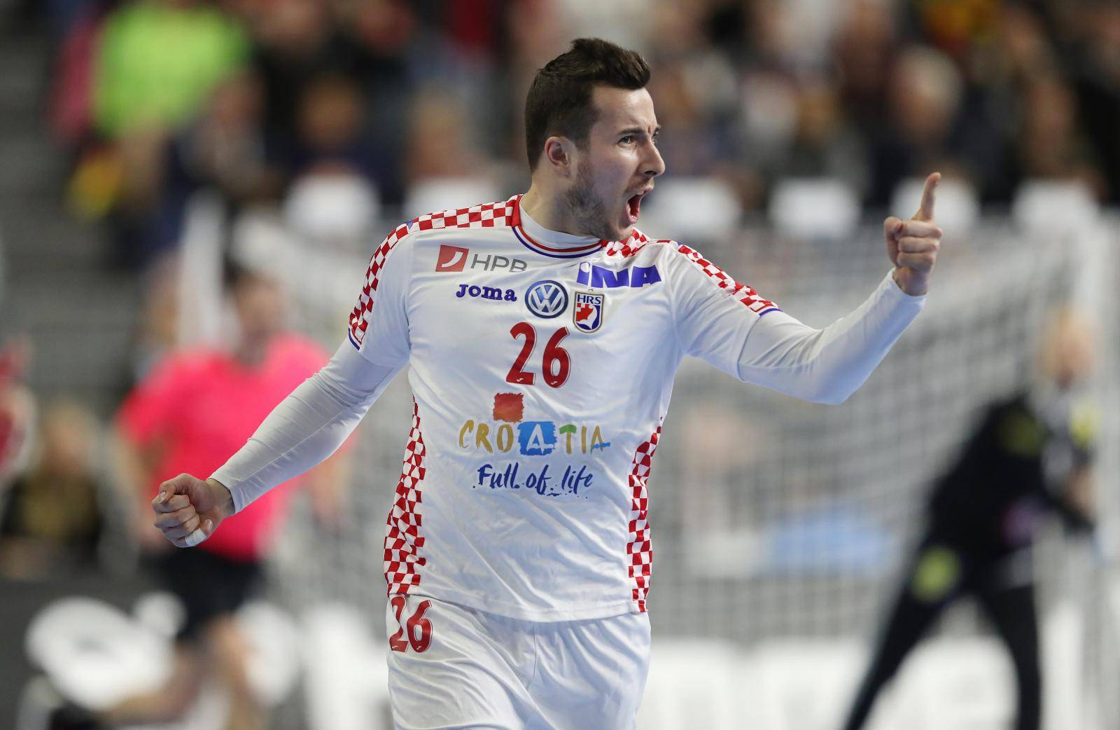 firo: 23.01.2019, Handball: World Cup World Cup Main Round France - Croatia, Croatia