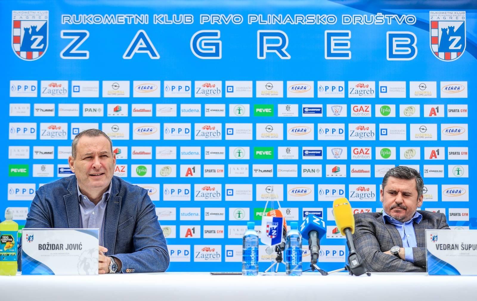 Konferencija za medije rukometnog kluba PPD Zagreb
