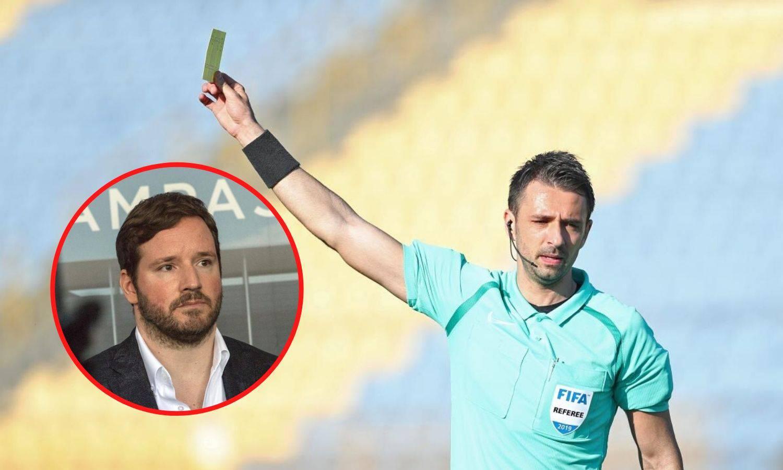 Meštroviću sol na ranu: Pajač će suditi Osijeku i u utakmici protiv Lokomotive u nedjelju?