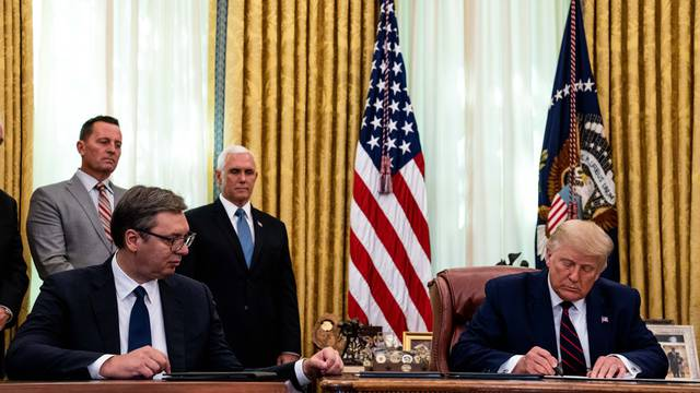 President Trump Hosts a Signing Ceremony for an Economic Cooperation Agreement