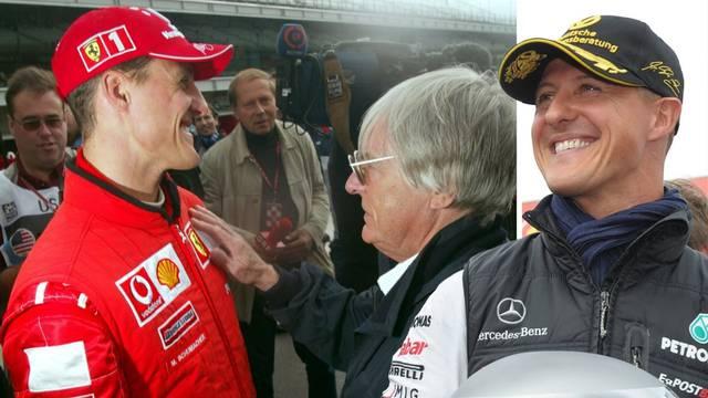 Bernie Ecclestone: Schumacher sad nije s nama, ali odgovorit će na sva pitanja kad bude bolje...