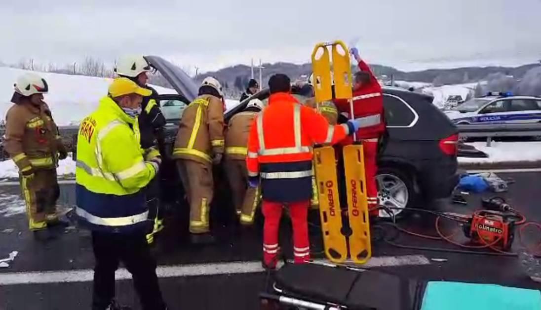 Dramatična operacija: Ograda mu odrezala nogu na autocesti