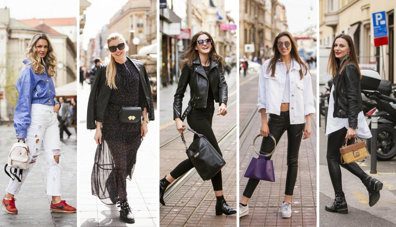 Buntovno i seksi: Kožne hlače i jakne - za 'chic' rokerski stil