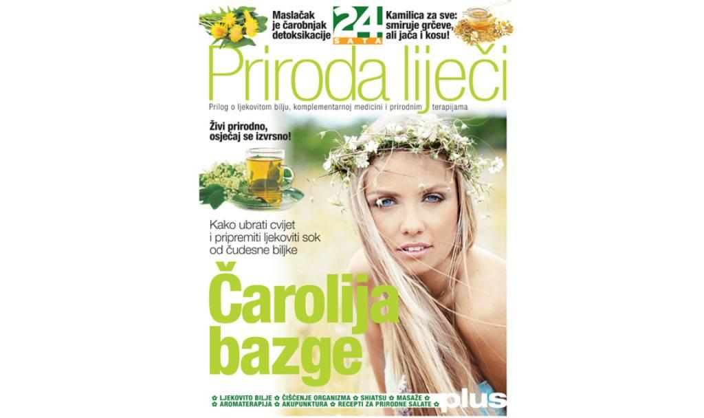 Novi prilog 24sata o ljekovitom bilju i prirodnim terapijama!