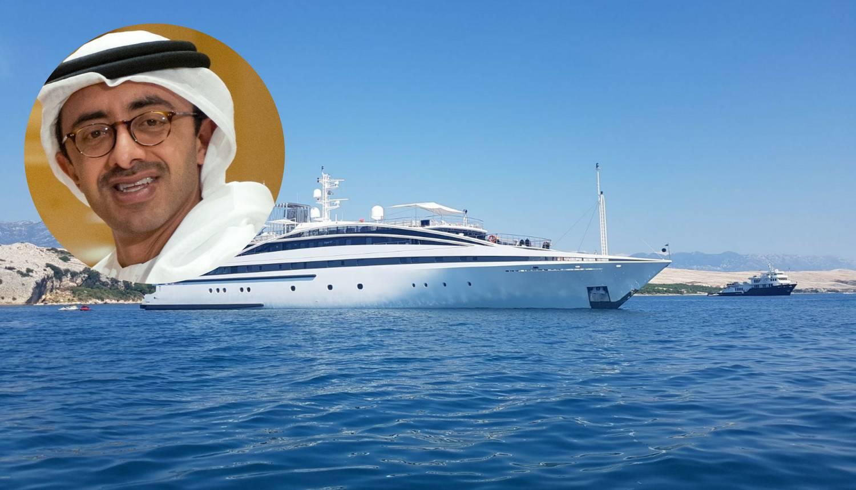 Bogati Zayed: Nakon Kolinde, šeik se odmara na Jadranu...