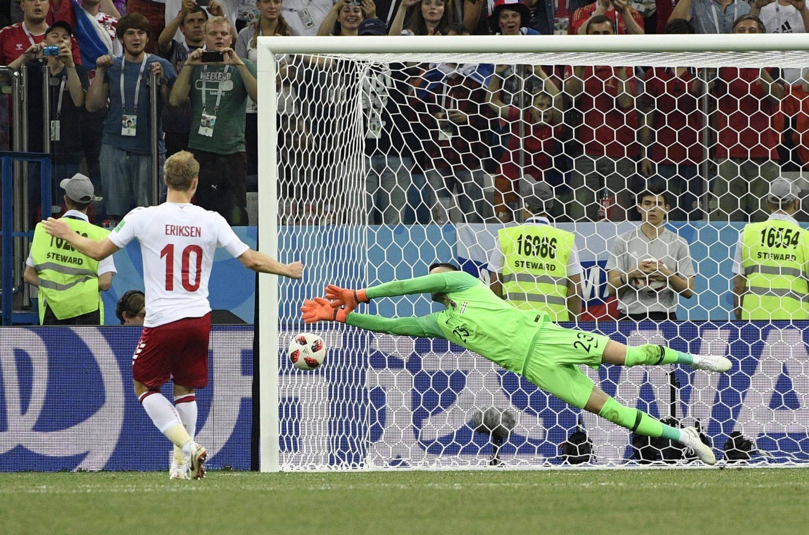 (SP)RUSSIA-NIZHNY NOVGOROD-2018 WORLD CUP-ROUND OF 16-CROATIA VS DENMARK
