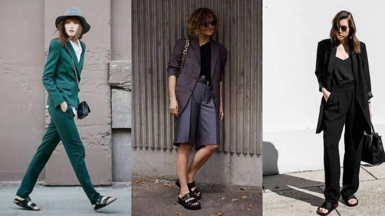 Ljetna modna fora: Odijelo uz natikače inspirirane retro stilom