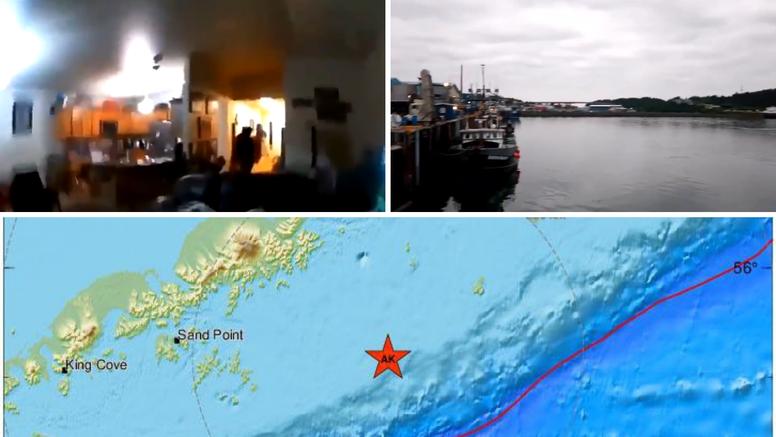 Jeziva snimka: Sirene diljem Aljaske nakon potresa, pogledajte kako trese na 8,2