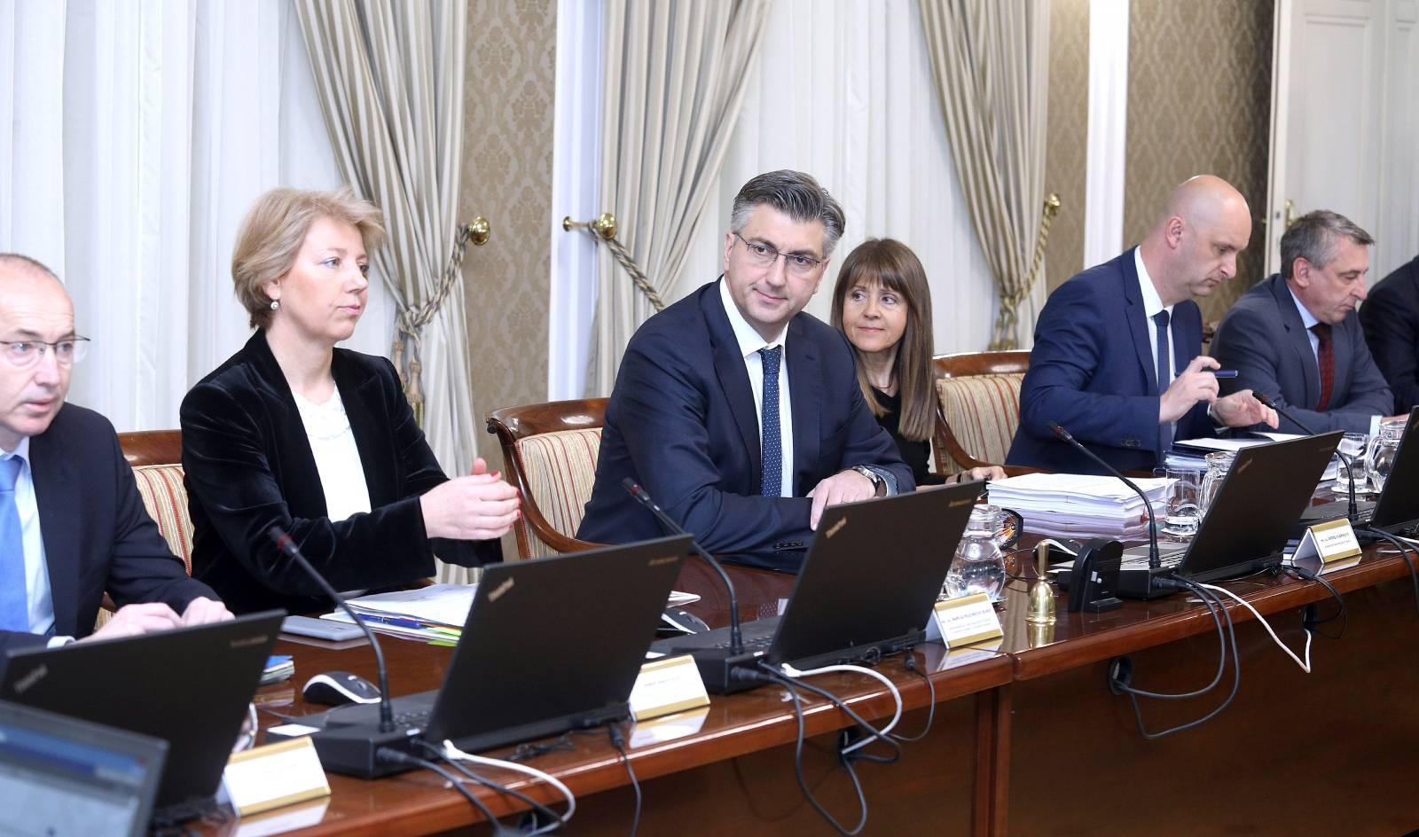 Zagreb: Vlada raspravljala o sredstvima EU za realizaciju LNG terminala