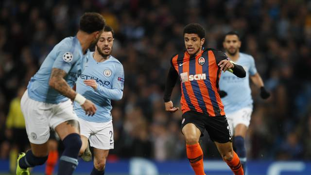 Manchester City v Shakhtar Donetsk - UEFA Champions League - Group F - Etihad Stadium