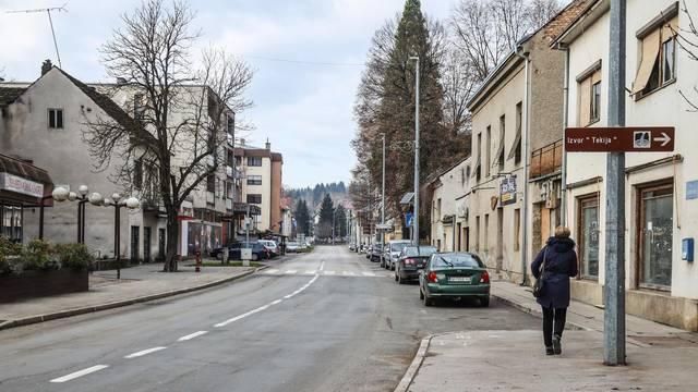 Grad Hrvatska Kostajnica za vrijeme pandemije koronavirusa