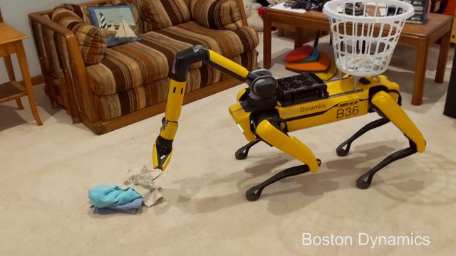 Naoružali robotskog psa okretnom rukom: Pogledajte kako kupi veš i preskače uže