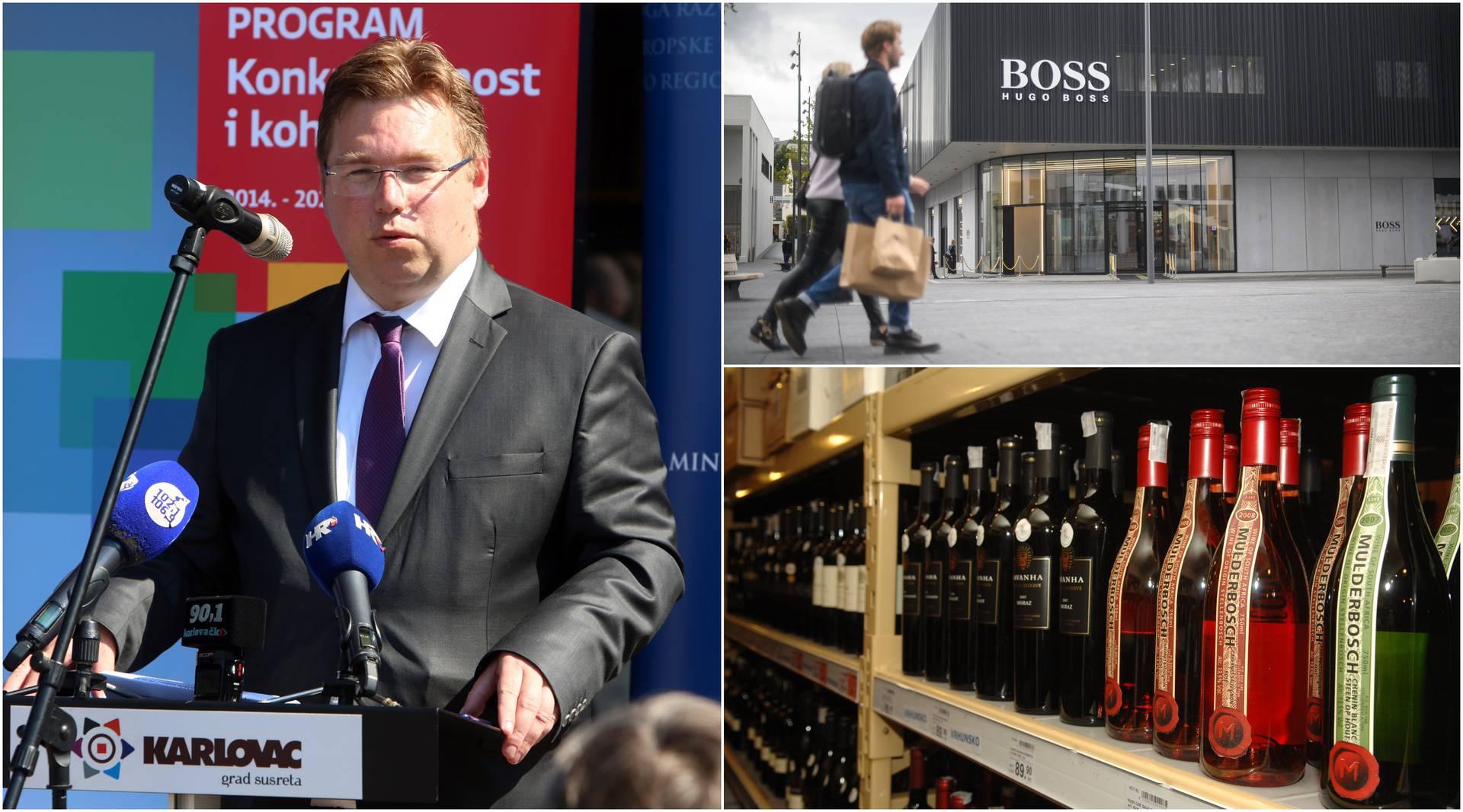 Šoping kralj: Pavić je novcem Ministarstva kupio 36 butelja vina, skupe parfeme i deziće