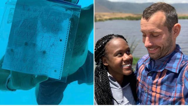 Zaprosio djevojku pod vodom i nedugo nakon toga preminuo...