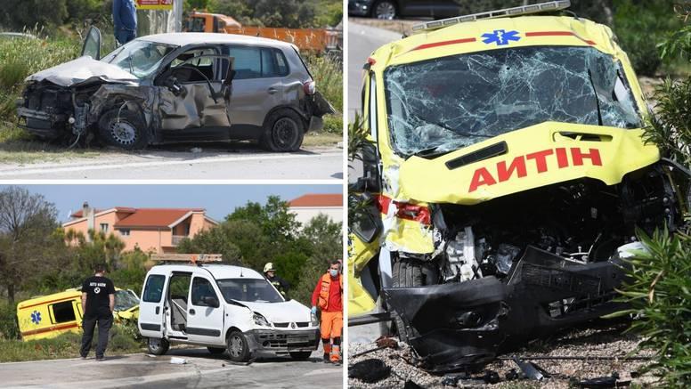 Četvero ozlijeđenih u sudaru Hitne pomoći i auta u Šibeniku